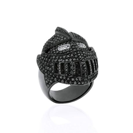 Black Diamond Knights Ring // Black Gold (9)