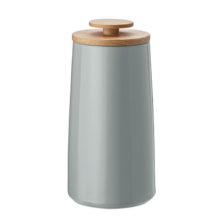 Emma // Tea Canister // Gray