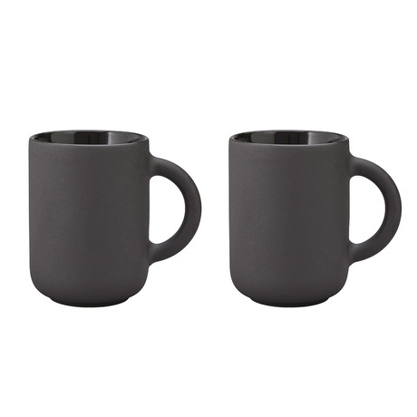 Theo // Mug // Set of 2 // Black