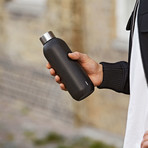 Keep Cool // Steel Drink Bottle // Black