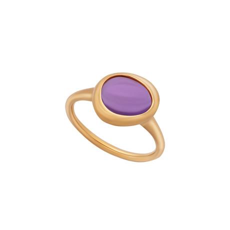 Fred of Paris Belles Rives 18k Rose Gold Amethyst Ring // Ring Size: 6.5