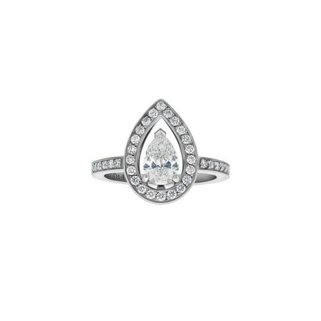 Fred of Paris Lovelight Platinum Diamond Ring II // Ring Size: 5.25