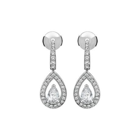 Fred of Paris Lovelight 18k White Gold Diamond Earrings III