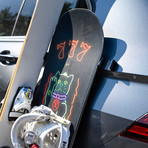 SnoStrip // Magnetic Ski & Snowboard Holder