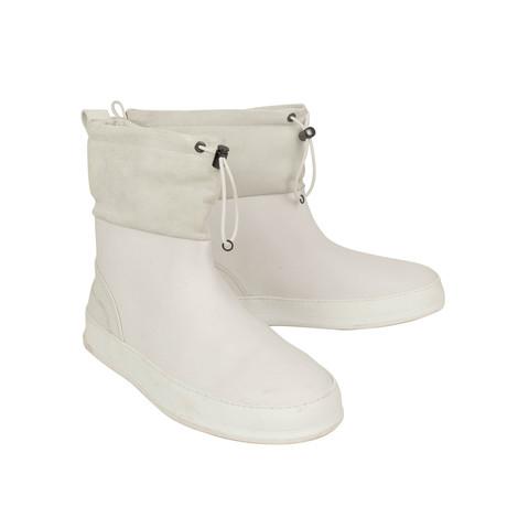 Rubber Rain Boots // White (US: 7)