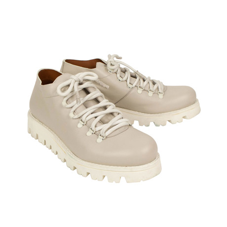 Lace Up Boots // Cream (US: 7)