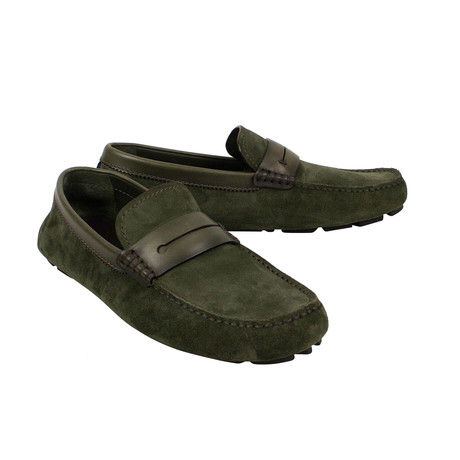 Morris New Driver Shoes // Green (US: 7)
