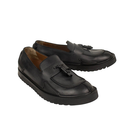 Leather Loafers // Black (US: 7)