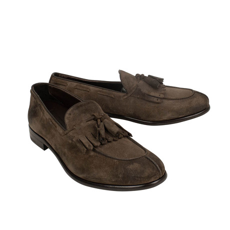 Moccasin Loafers // Brown (US: 7)