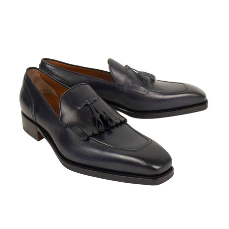 Leather Loafer Shoes // Navy (US: 7)