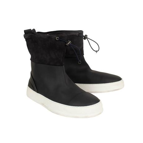 Rubber Rain Boots // Black (US: 7)