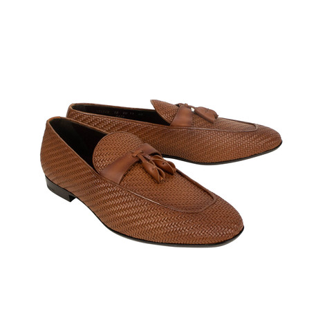 Leather Lido Loafer Shoes // Brown (US: 7)