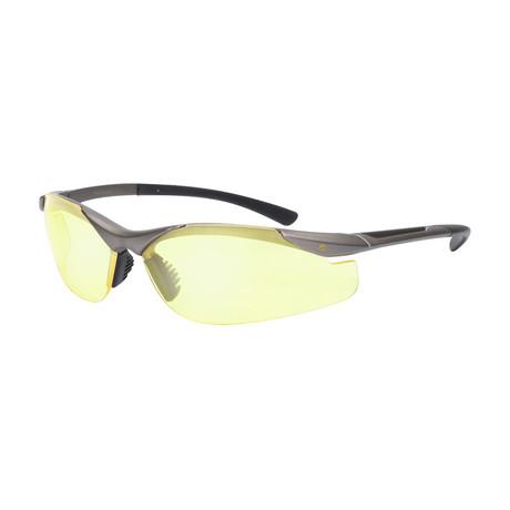 Eagle Eyes Optic // Blade NL Night-Driving Glasses // Bronze
