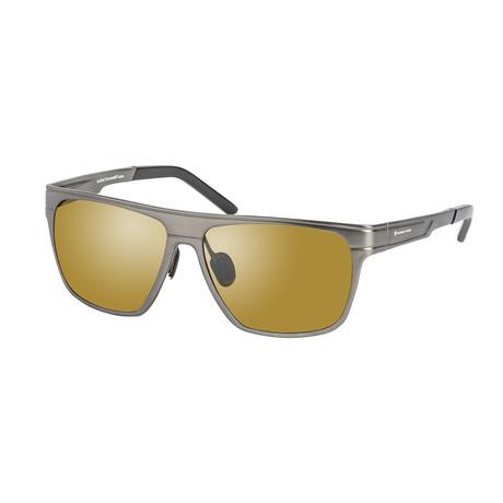 Eagle Eyes Optic // Element Polarized Sunglasses // Matte Gunmetal + Silver Flash Mirror