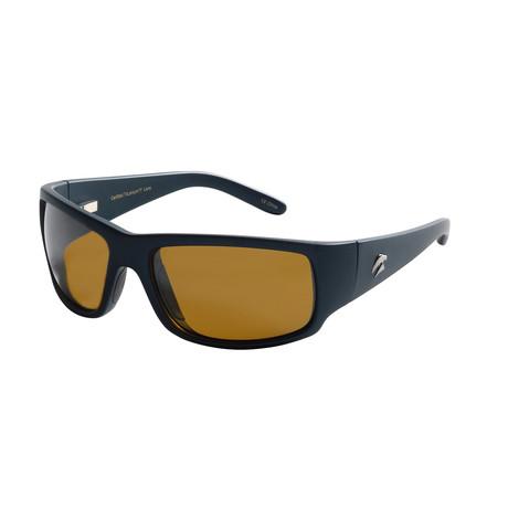 Eagle Eyes Optic // Cozmoz Polarized Sunglasses // Midnight Blue + Silver Flash Mirror