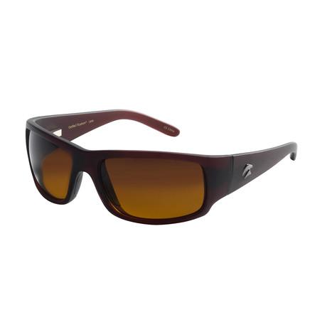 Eagle Eyes Optic // Cozmoz Polarized Sunglasses // Merlot + Gradient