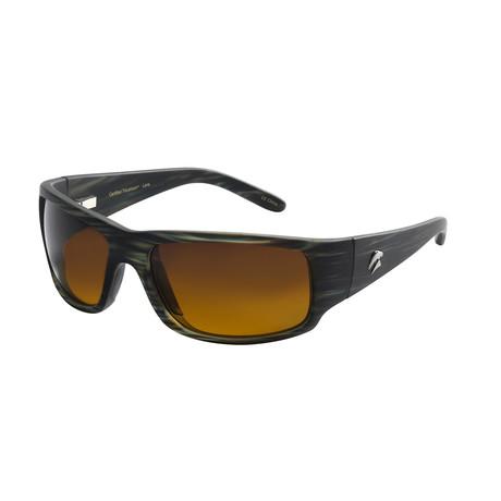 Eagle Eyes Optic // Cozmoz Polarized Sunglasses // Moss Green + Gradient