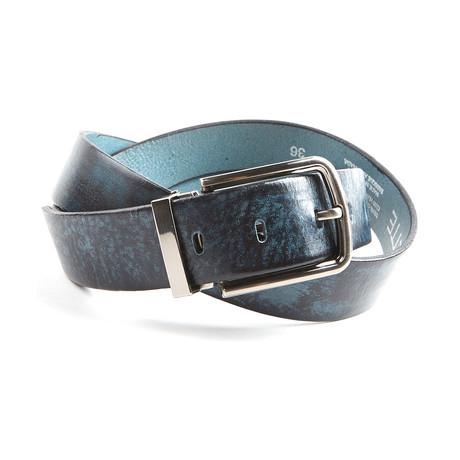 "Marble Belt // Blue (Size 30"")"