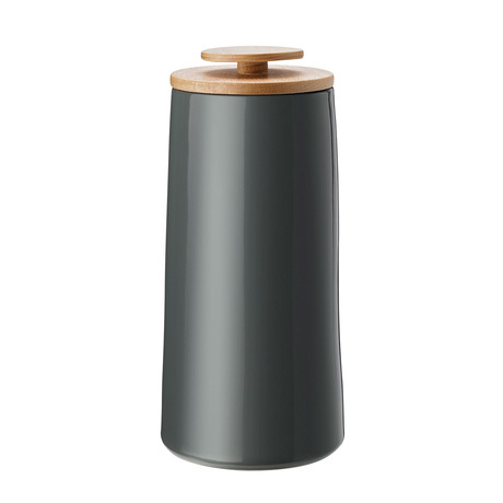 Emma // Coffee Canister // Dark Gray