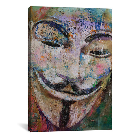 "Anonymous // Michael Creese (26""W x 40""H x 1.5""D)"