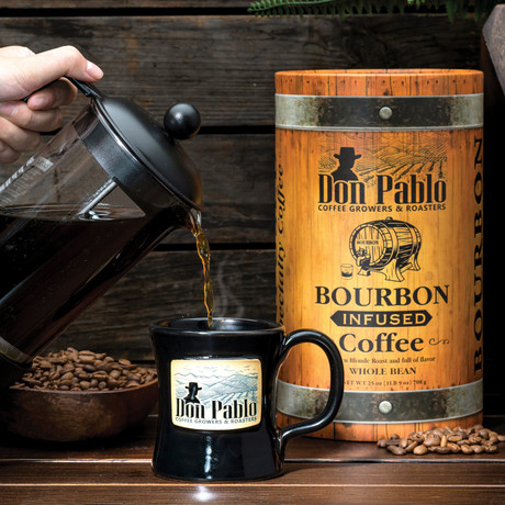 Don Pablo Bourbon Infused Specialty Coffee // 25 oz