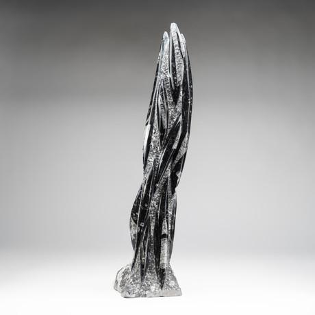 Orthoceras Fossil Statue V.2