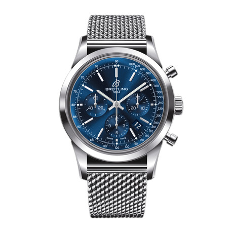 Breitling Transocean Chronograph Automatic // AB015112/C860-154A // Pre-Owned