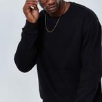 Sleek Sweatshirt // Black (XL)