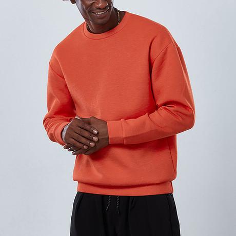 Sleek Sweatshirt // Orange (S)