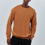Sleek Sweatshirt // Camel (XL)