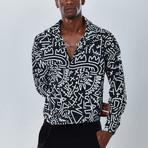 Artist Button Down Shirt // Black (S)