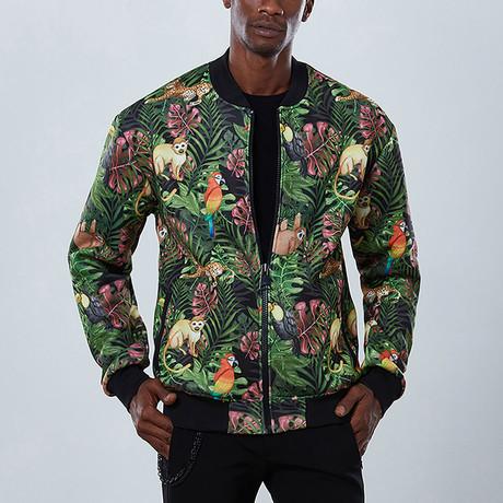 Jungle Bomber Jacket // Green (S)