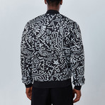 Hypnotic Bomber Jacket // Black (2XL)