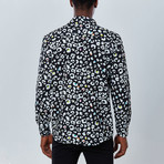 Animal Button Down Shirt // Black (S)