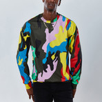 Splatter Sweatshirt // Multicolor (2XL)