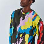 Splatter Sweatshirt // Multicolor (L)
