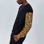 Wild Sleeves Sweatshirt // Black (S)