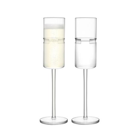 Horizon Champagne Flute // Set of 4