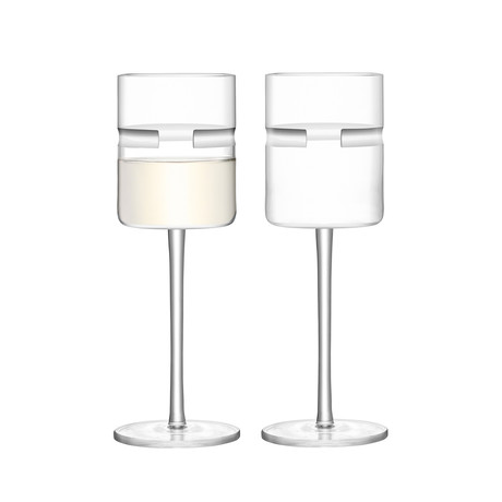Horizon White Wine Glass // Set of 4