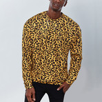 Full Cheetah Sweatshirt // Yellow (2XL)