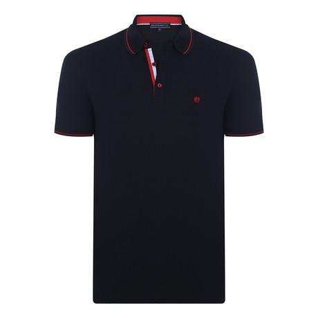 Canyon Short-Sleeve Polo Shirt // Black (XS)