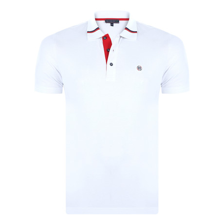 Joey Short-Sleeve Polo Shirt // White (XS)