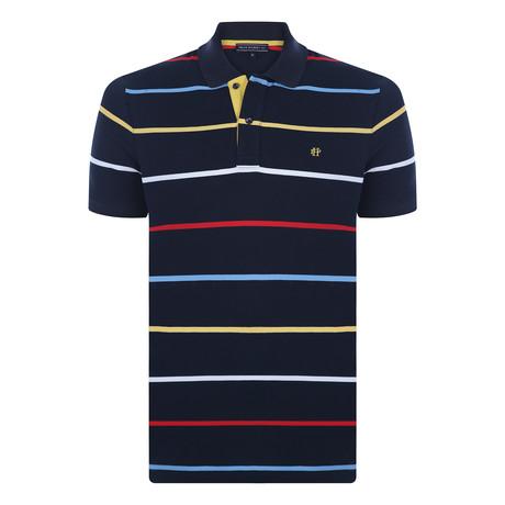 Tahoe Short-Sleeve Polo Shirt // Navy (XS)