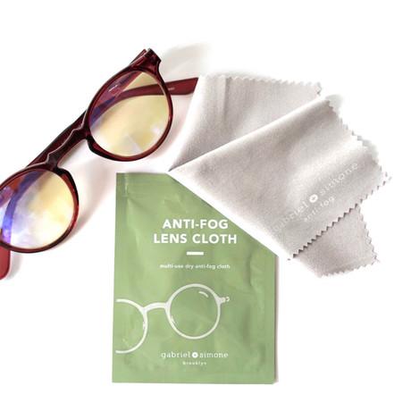 Reusable Anti-Fog Lens Cleaning Cloth