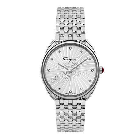 Salvatore Ferragamo Ladies Cuir Swiss Quartz // SFYN00720