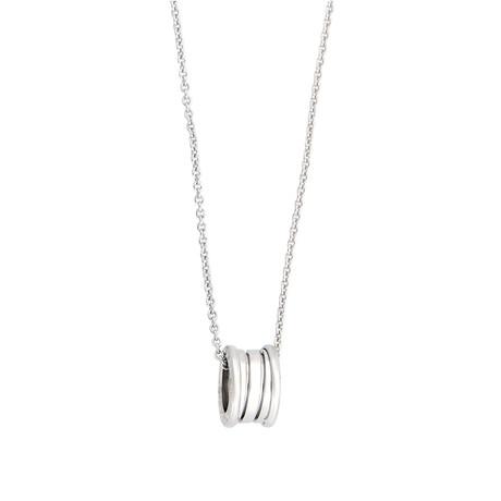 Bulgari 18k White Gold B.Zero1 Necklace // Pre-Owned