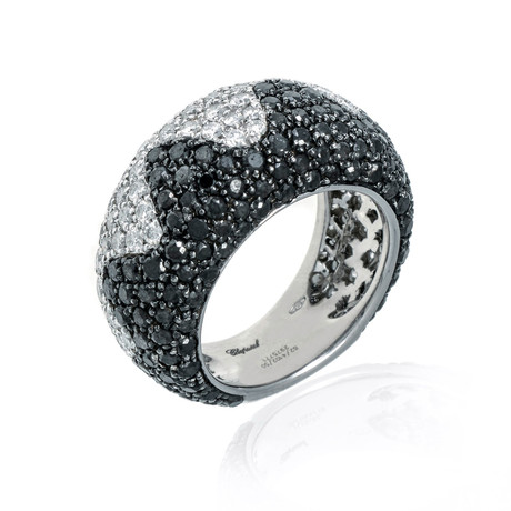 Chopard 18k White Gold Diamond Ring // Ring Size: 6.5 // Pre-Owned