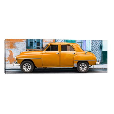 "Orange Classic American Car // Philippe Hugonnard (60""W x 20""H x 0.75""D)"