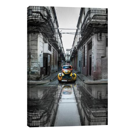 "Classic Old Car In Havana, Cuba // Svetlin Yosifov (26""W x 40""H x 1.5""D)"