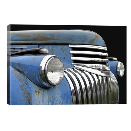 Chevy Grill Blue // Larry Hunter